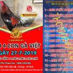 """[TRỰC TIẾP] Giải """" 4 con gà Việt"""" Thomo Casino 67 , Thứ 7 ngày 27/7/2019"""