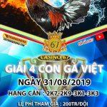 Xem đá gà giải Campuchia trực tiếp thứ 7 ngày 31/8/2019