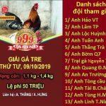 [TRỰC TIẾP] Giải đá gà cựa sắt Thomo Campuchia ngày 9/10/2019