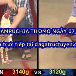 Đá gà Campuchia Hôm Nay ngày 7/3/2021